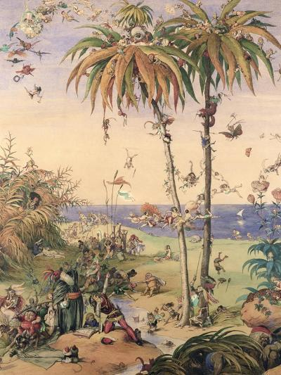 The Enchanted Tree, a Fantasy Based on 'The Tempest', 1845-Richard Doyle-Giclee Print