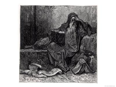 """The Enchanter Merlin, from """"Orlando Furioso"""" by Ludovico Ariosto, Published by Hachette in 1888-Gustave Dor?-Giclee Print"""