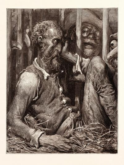 The Enchantment of Don Quixote-Gustave Dore-Giclee Print