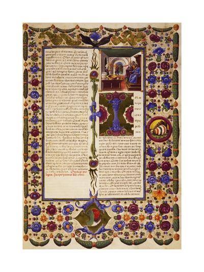 The End of Prologue and Incipit from Book of Exodus--Giclee Print