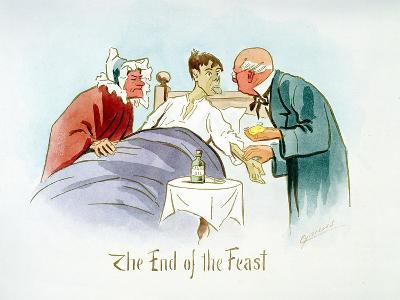 The End of the Feast, C1895-Martin Anderson-Giclee Print