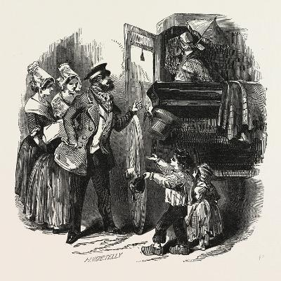The End of the Season, 1846, Off to Paris: Courier and Travelling Carriage--Giclee Print
