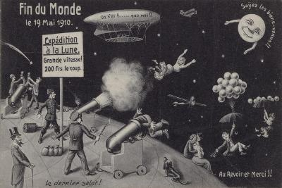 The End of the World, 19 May 1910--Giclee Print