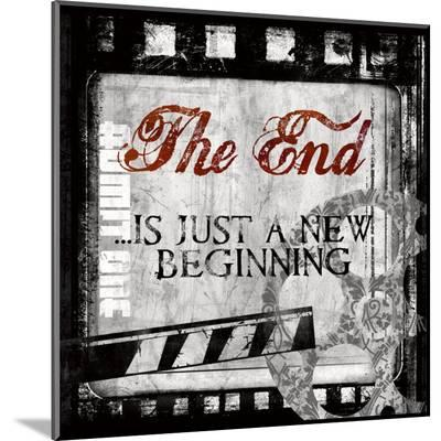 The End-Conrad Knutsen-Mounted Print
