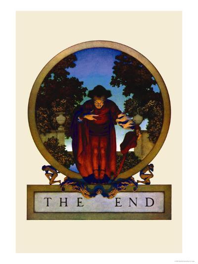 The End-Maxfield Parrish-Art Print
