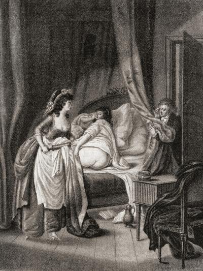 The Enema. from Illustrierte Sittengeschichte Vom Mittelalter Bis Zur Gegenwart by Eduard Fuchs--Giclee Print