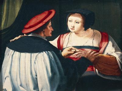 The Engagement, 1527-Lucas van Leyden-Giclee Print