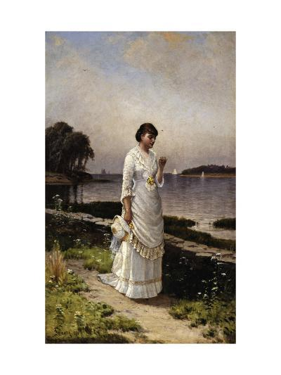The Engagement Ring-Alfred Thompson Bricher-Giclee Print