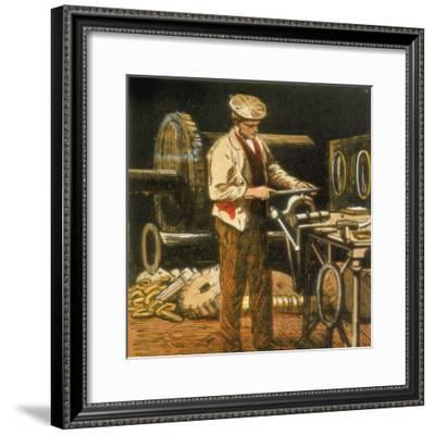 The Engineer, 1867--Framed Giclee Print