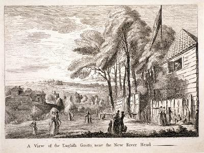 The English Grotto, New River Head, Finsbury, London, C1790--Giclee Print
