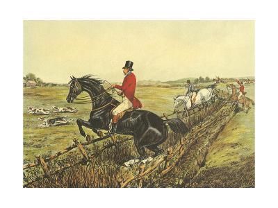 The English Hunt IV-Henry Alken-Art Print