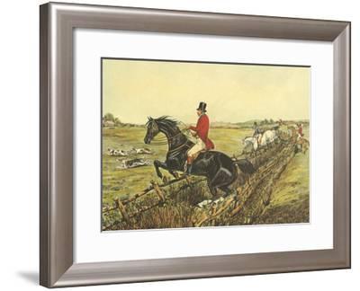The English Hunt IV-Henry Alken-Framed Art Print