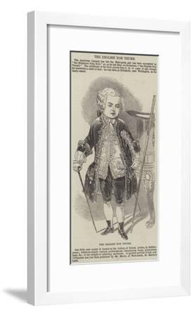 The English Tom Thumb--Framed Giclee Print
