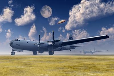 The Enola Gay B-29 Superfortress at Walker Air Force Base