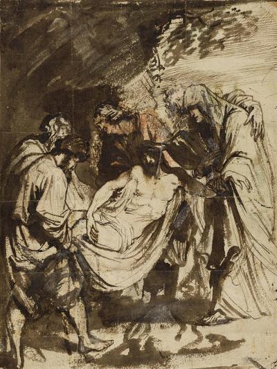The Entombment (1617-1618)-Anthony van Dyck-Giclee Print