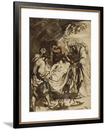 The Entombment (1617-1618)-Anthony van Dyck-Framed Giclee Print