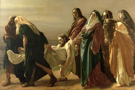 The Entombment, 1883-Antonio Ciseri-Giclee Print