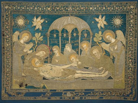 The Entombment (Altar Embroider), 1682--Giclee Print