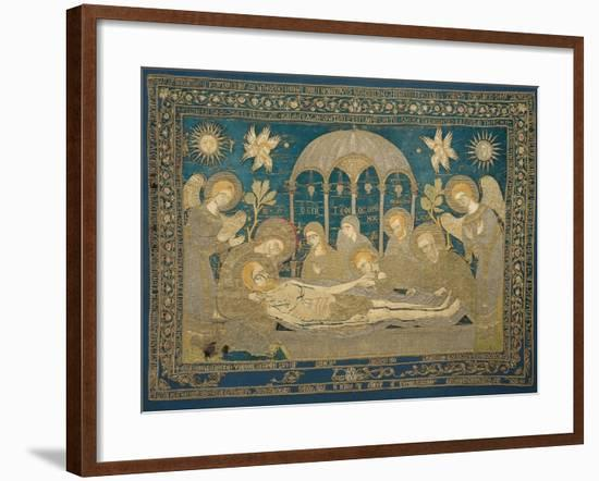 The Entombment (Altar Embroider), 1682--Framed Giclee Print