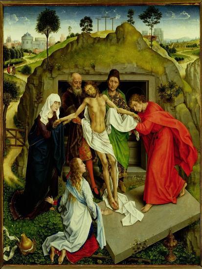 The Entombment, c.1450-Rogier van der Weyden-Giclee Print
