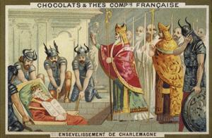 The Entombment of Charlemagne, 814