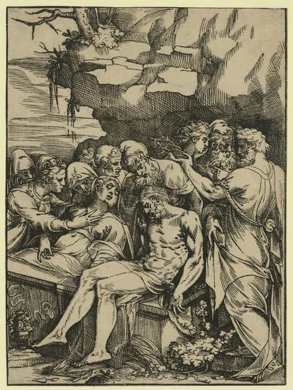 The Entombment--Giclee Print