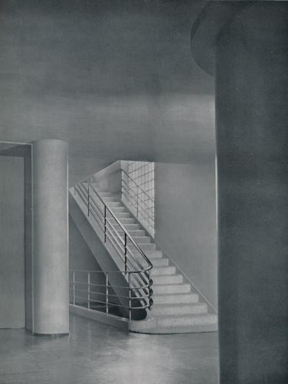 'The Entrance Hall and Staircase', 1942-Unknown-Photographic Print