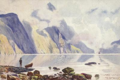 The Entrance, Milford Sound, New Zealand--Giclee Print