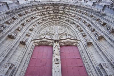 The Entrance to Cathedral of Saint Paul and Saint Peter, Loire-Atlantique, France-Julian Elliott-Photographic Print
