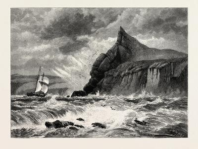 The Entrance to Fowey Harbour, Cornwall, UK, 19th Century--Giclee Print