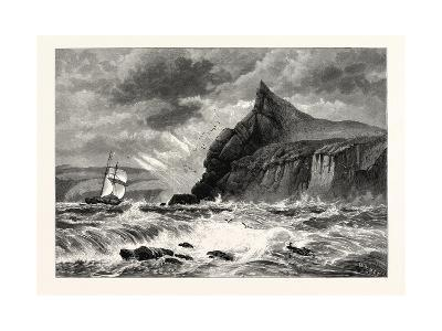 The Entrance to Fowey Harbour, Cornwall, UK--Giclee Print