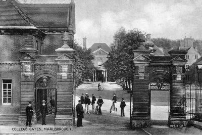 The Entrance to Marlborough College, Marlborough, Wiltshire, Early 20th Century--Giclee Print