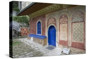 The Entrance to the Church of the Transfiguration Monastery (Preobrazenski Manastir)