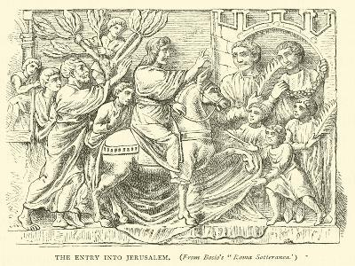 The Entry into Jerusalem--Giclee Print