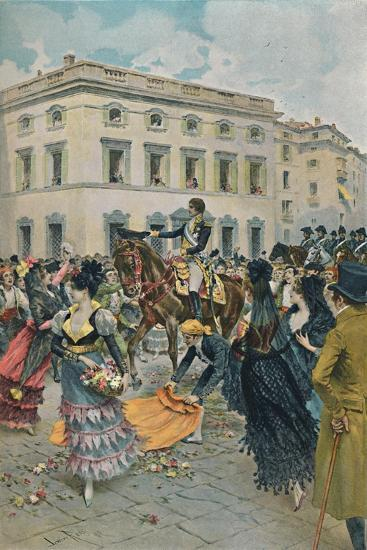 'The Entry of Ferdinand into Madrid', 23 March 1808, (1896)-Unknown-Giclee Print