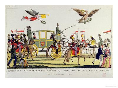 The Entry of Napoleon Into Paris on 20th March 1815--Giclee Print