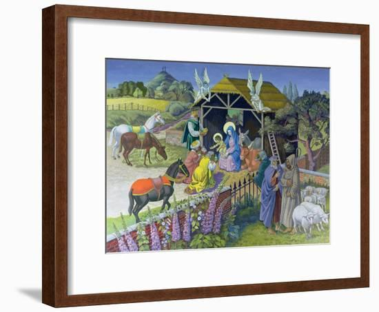 The Epiphany, 1987-Osmund Caine-Framed Giclee Print