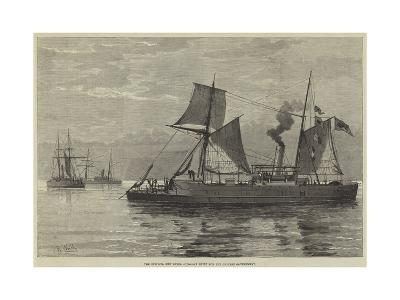 The Epsilon, New Steel Gun-Boat Built for the Chinese Government--Giclee Print