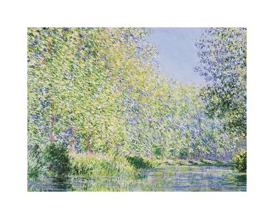 The Epte River near Giverny-Claude Monet-Giclee Print