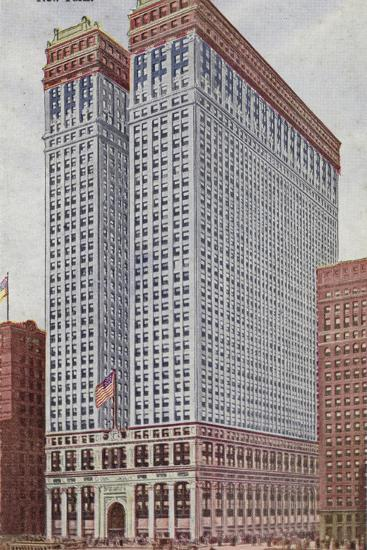 The Equitable Building, New York City, USA--Photographic Print