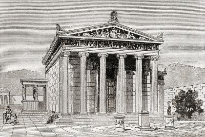 The Erechtheum in Athens, Greece--Giclee Print