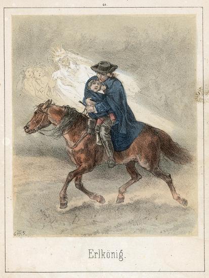 The Erl King-Theodor Hosemann-Giclee Print