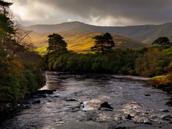 The Erriff River in County Mayo-Chris Hill-Photographic Print