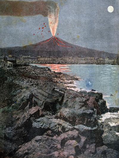 The Eruption of Etna, Sicily, 1892-Henri Meyer-Giclee Print