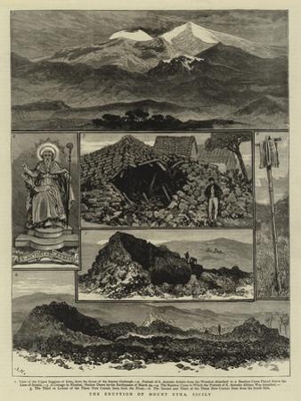 The Eruption of Mount Etna, Sicily