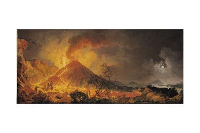 The Eruption of Vesuvius-Pierre Jacques Volaire-Giclee Print