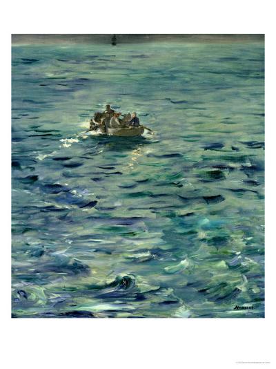 The Escape of Henri De Rochefort (1831-1915) 20 March 1874, 1880-81-Edouard Manet-Giclee Print