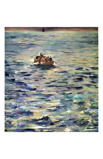 The Escape of Rochefort-Edouard Manet-Giclee Print