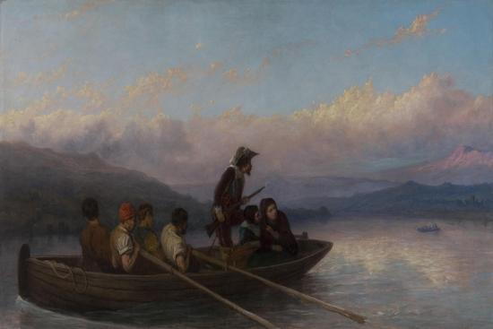 The Escape-William I Bromley-Giclee Print