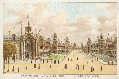 The Esplanade, Exposition Universelle 1900, Paris--Giclee Print